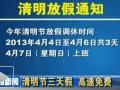清明节高速路免费通行3天 20余省市已出台细则 (641播放)