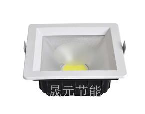 供内置筒灯外壳配件 6寸COB内置电源筒灯外壳配件