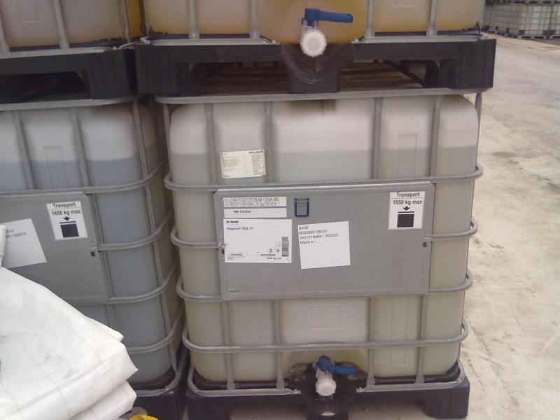 阴离子乳化剂;脂肪醇醚硫酸盐,30EO