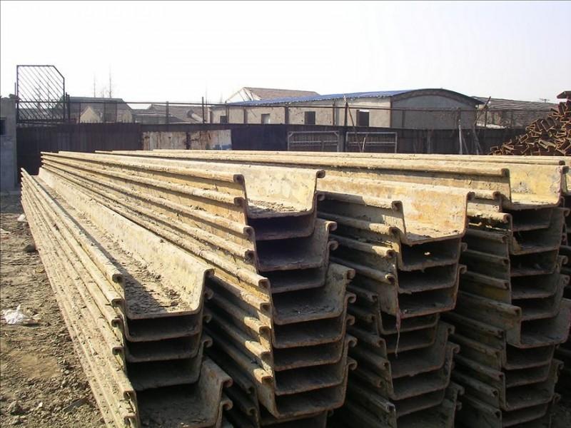 青岛哪里有钢板桩出租,拉森桩施工服务?