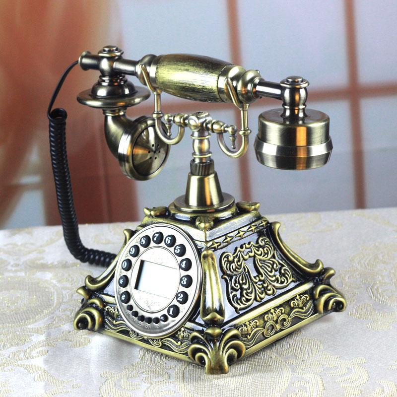 精美仿古电话机厂家直销摆件工艺品商务电话机