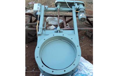 辽阳DN500电动插板阀|乔达电动插板阀价格