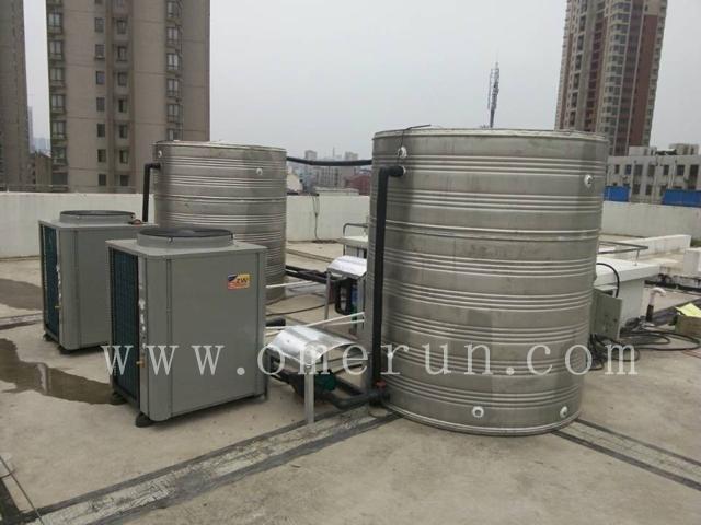 小宾馆旅馆空气能热水系统方案找欧贝