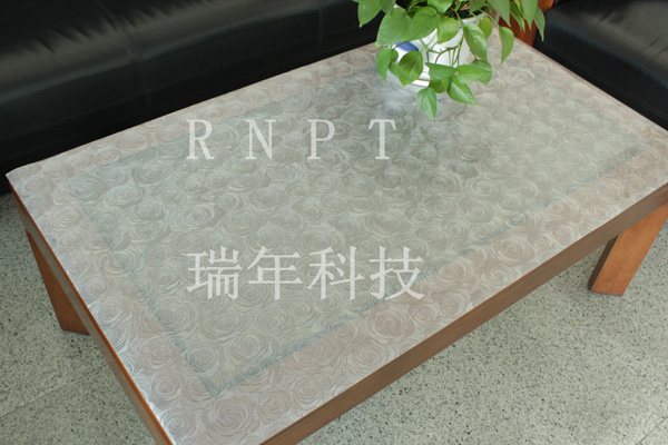RNPT瑞年科技立体水晶板金属水晶桌垫